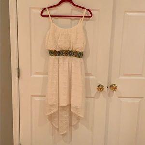 Junior high/low summer dress